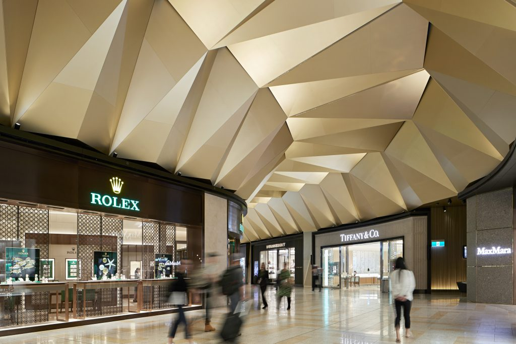 Electrolight Melbourne Airport T2 Luxury Mall