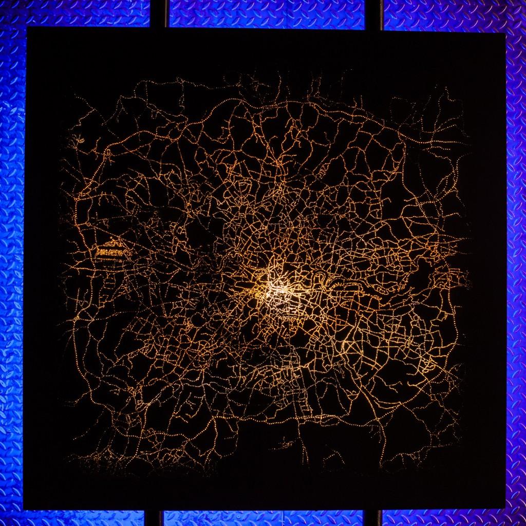 Electrolight Artistic Installation For The Darc Awards